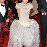 Daphne Guinness Changes in McQueen in Front of Everybody