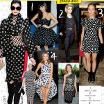 For the Love of Black and White Polka Dots