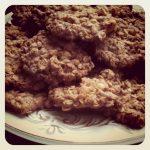 Sunday Baking Joy: Oatmeal cookies