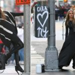 Advertising update: Cara in NY for DKNY Fall 2013