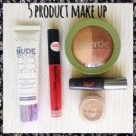 5 Product Make Up Day 1