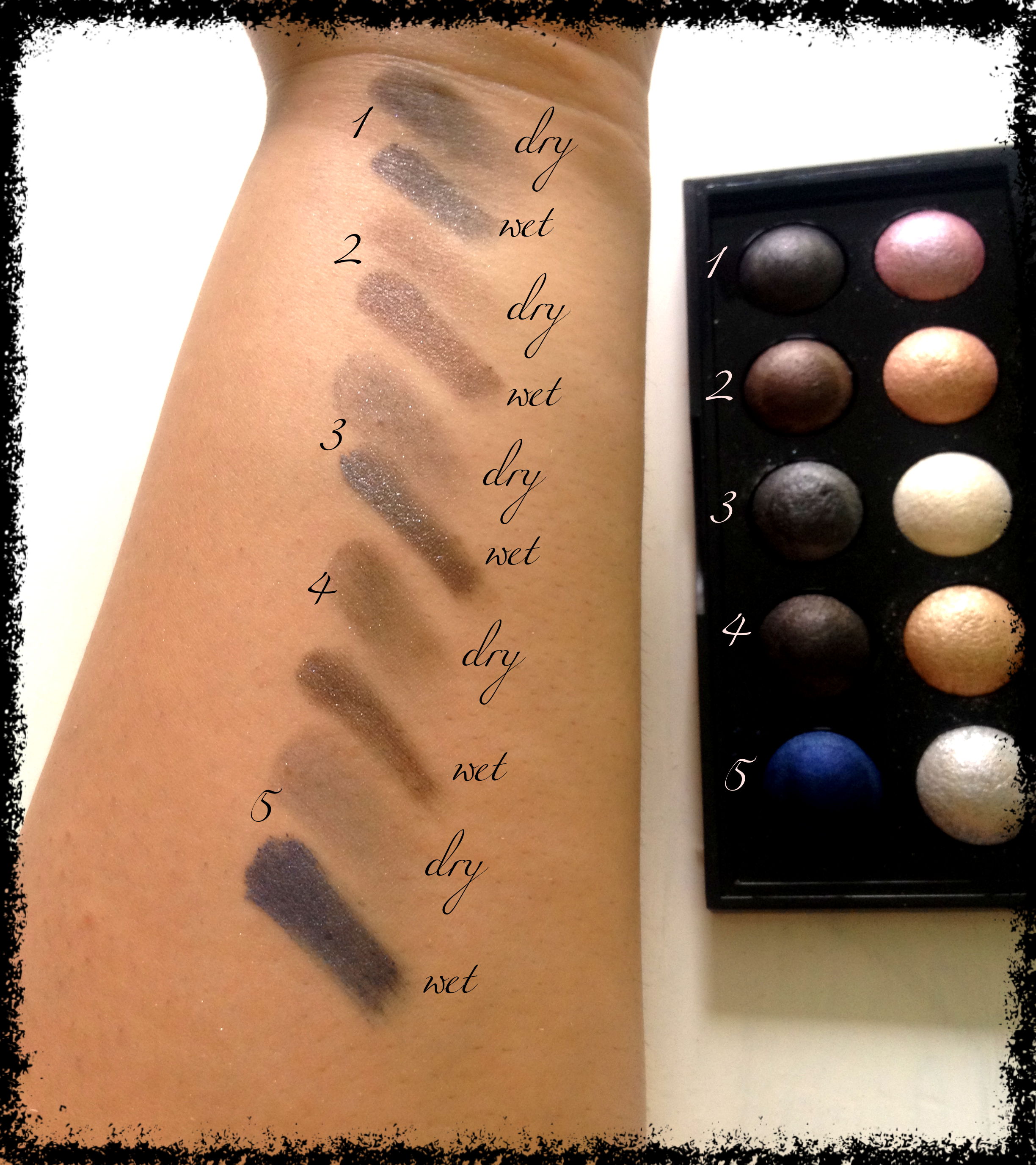 baked eye sahdows swatches 2
