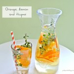 In the Green Kitchen: Fruit Infused Water