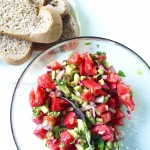 In the Green Kitchen: Summer Avocado and Tomato Salad