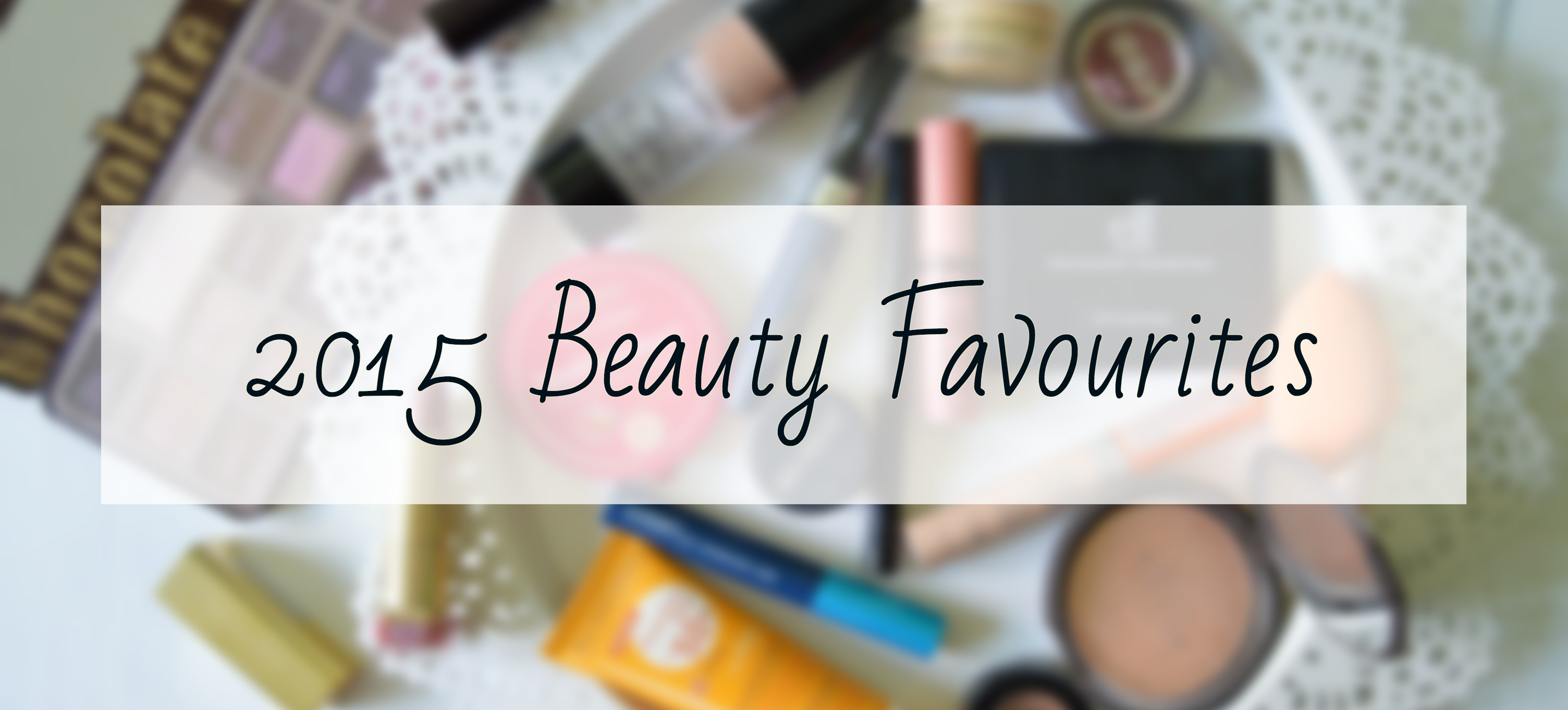 beauty faves 2015