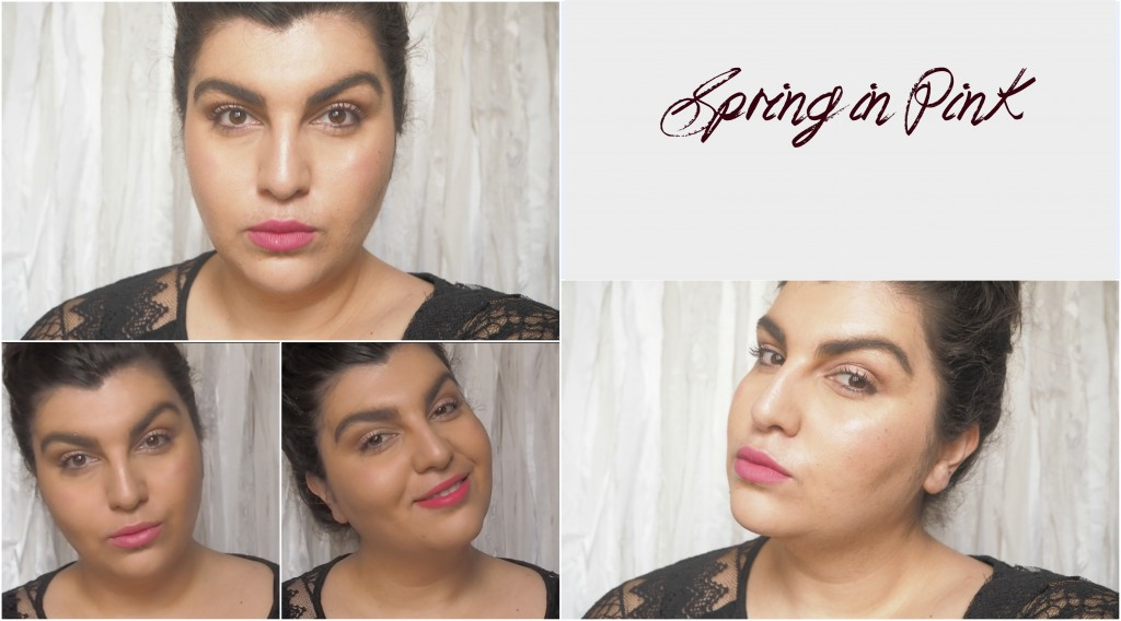 spring in pink make up tutorial