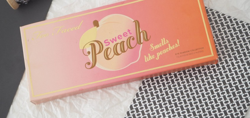 First Impressions: Too Faced Sweet Peach