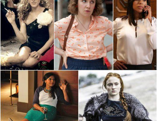 5 female characters