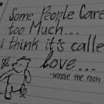 Quote of the day- Pooh Wisdom