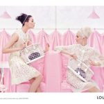 Sweet and Girly Louis Vuitton Spring 2012 Ads