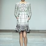 Mary Katrantzou Fall 2012: For the love of color and print