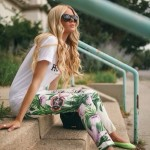 Floral trousers for Spring