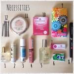 Necessities или Нещата, които винаги са ми в чантата