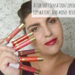Lip Review: Astor Soft Sensation Lipcolor Butters: