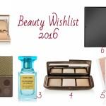 Beauty Wishlist for 2016