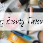 2015 Beauty Favourites
