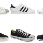Trend alert: Black and white sneakers