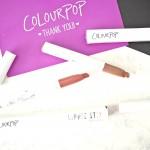 First Impressions: Colourpop Lippie Stix