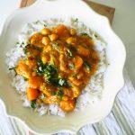 От Зелената Кухня: Къри с тиква, кокос и нахут